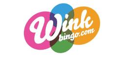 Wink Bingo  - Wink Bingo. Deposit £10 play with £50