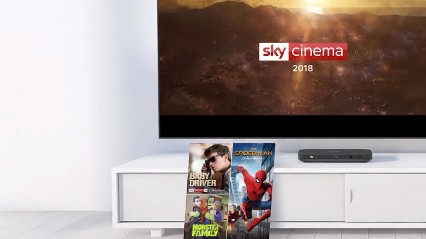 Sky Cinema Upgrade. Add for only £10 a month