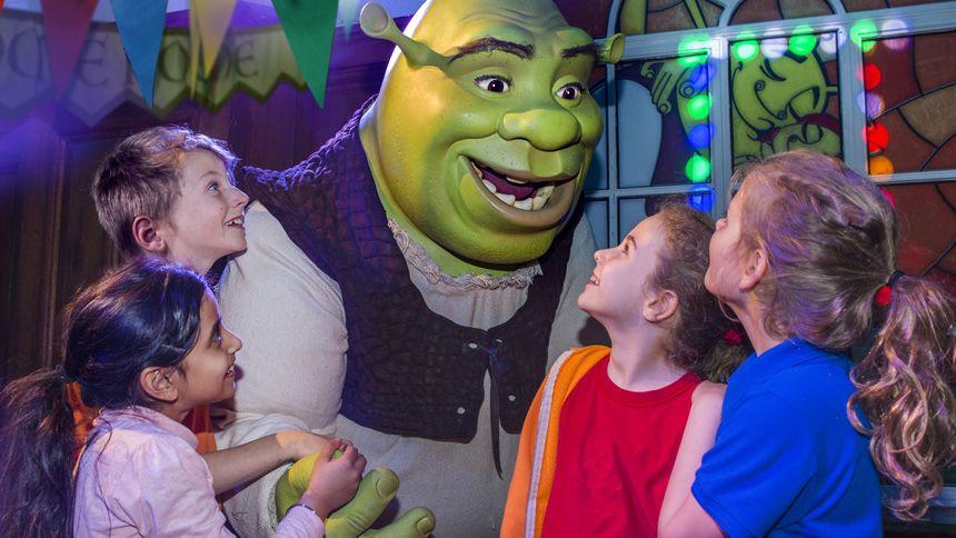 Shreks Adventure London. Huge savings for NHS