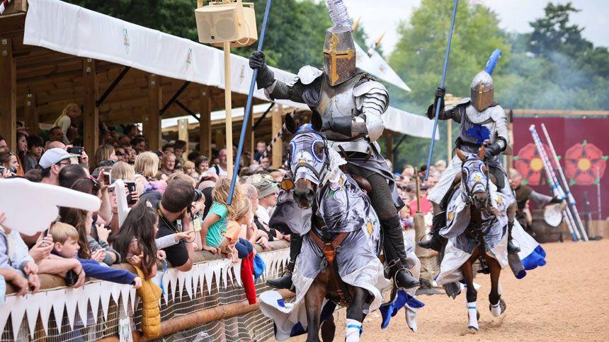 Warwick Castle. Huge savings for NHS