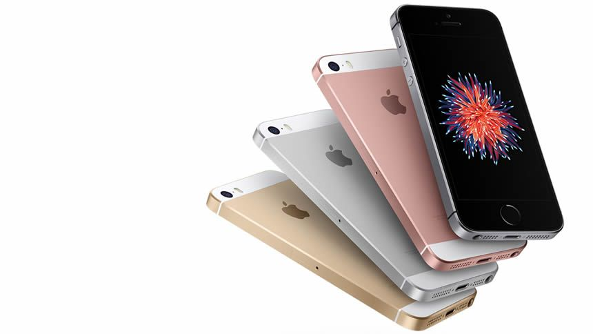 Free iPhone SE. £22.40 a month