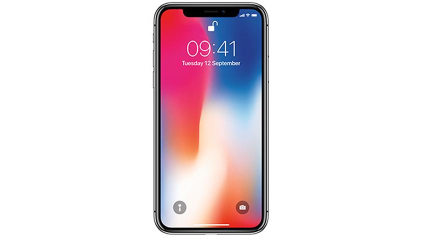 iPhone X. £10 handset + £62.40 a month