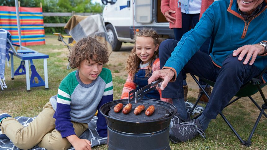 Touring & Camping October Half Term Breaks. From £18 per pitch, per night