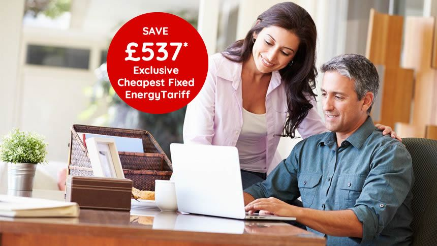 Switching Extended. Save up to £537 on your energy bills