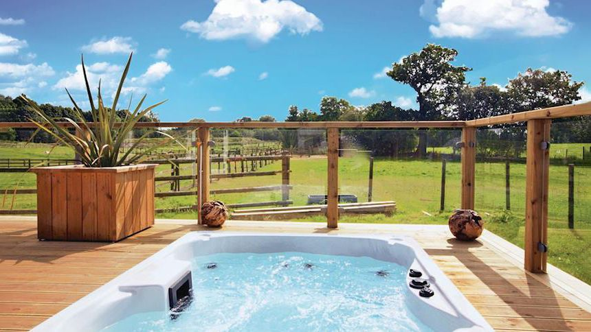 Hot Tub Lodge Breaks. From £299 + up to 10% NHS discount