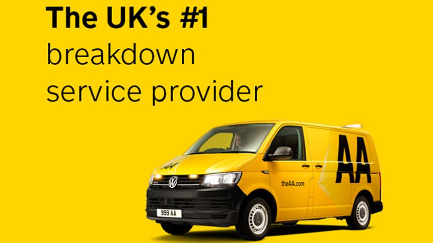AA Breakdown Cover - NHS exclusive from £4 per month