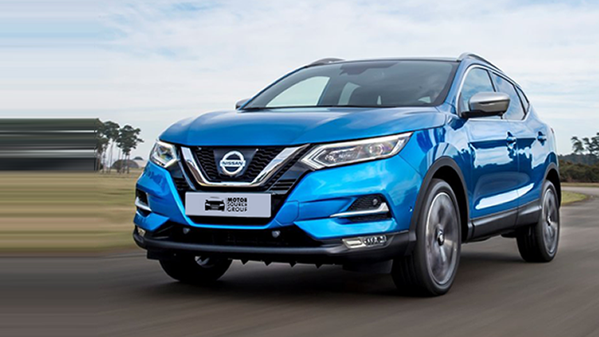 NEW Nissan Qashqai. NHS save £7,325