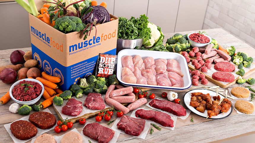 Muscle Food. Free 21 Piece Fresh Lean Meat Hamper