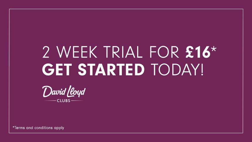 2 Week Trial. For just £16!