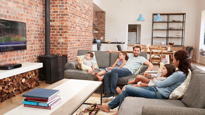 Faster Fibre Broadband + TV Plus. £34.95 a month