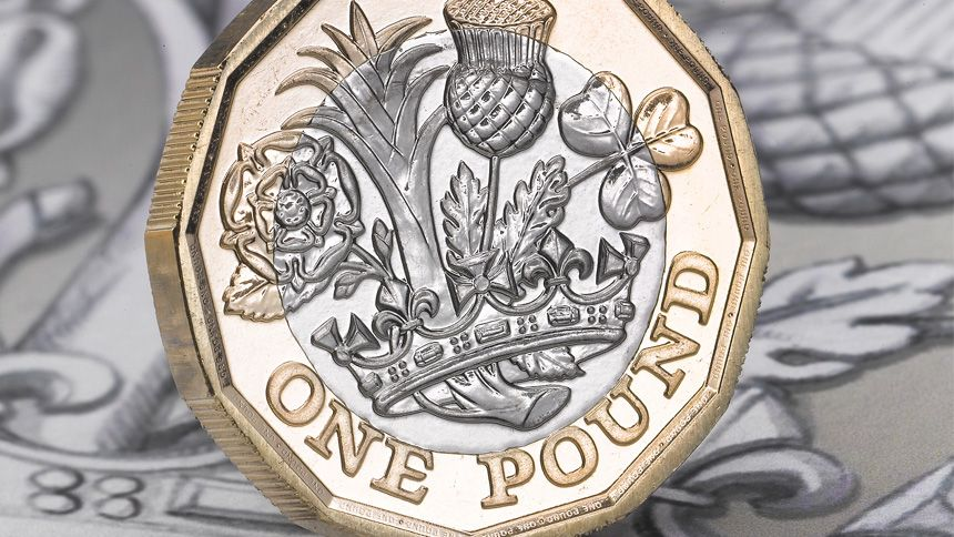 The Royal Mint. 50% off Nations of the Crown £1 uncirculated coin