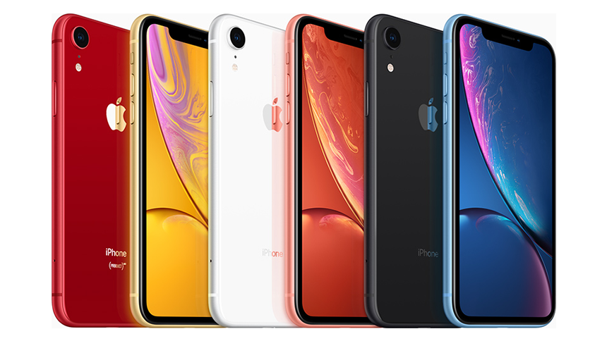 iPhone XR. £175 upfront + £34 a month