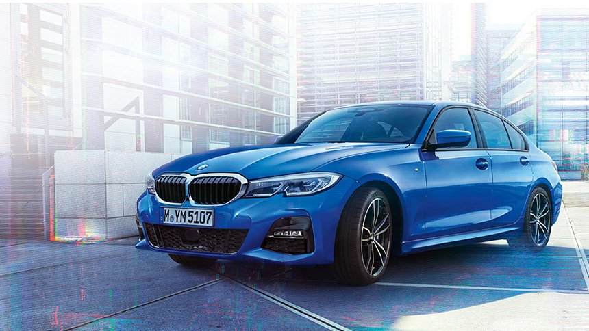 BMW 318d M Sport Shadow Edition Saloon. Exclusive offers for NHS & immediate families