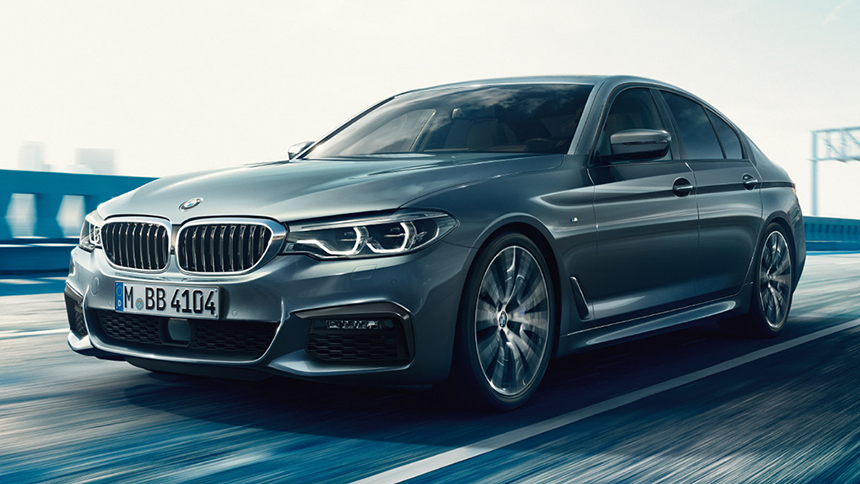 BMW 520d M Sport Saloon. Exclusive offers for NHS & immediate families