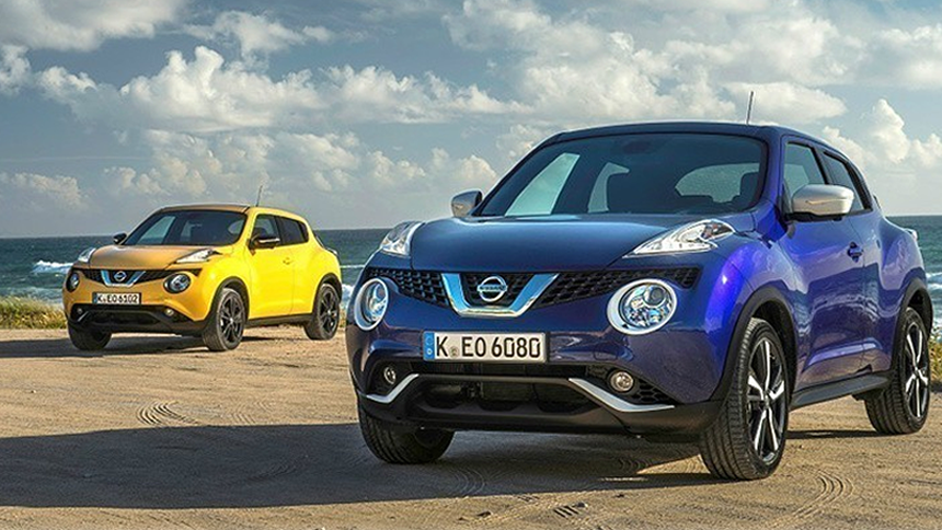 Nissan Juke. NHS save £7,820