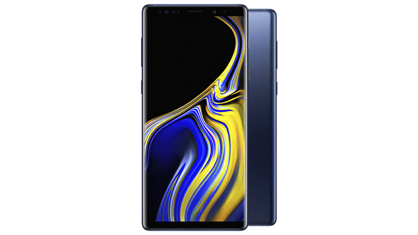 Samsung Galaxy Note 9. £38 a month