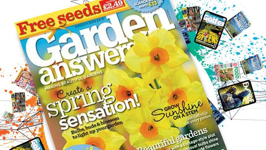 Garden Answers Magazine. 15% off 12 months subscription