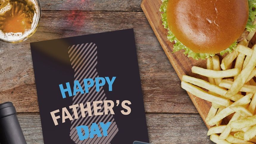 Father's Day at Sizzling Pubs. Free burger for dad