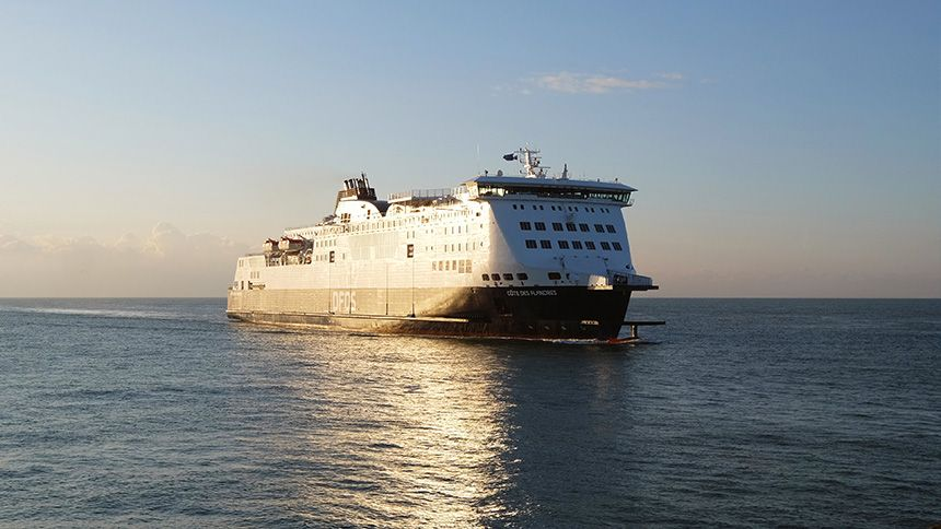 Calais & Dunkirk Ferry Crossing - NHS save 25%