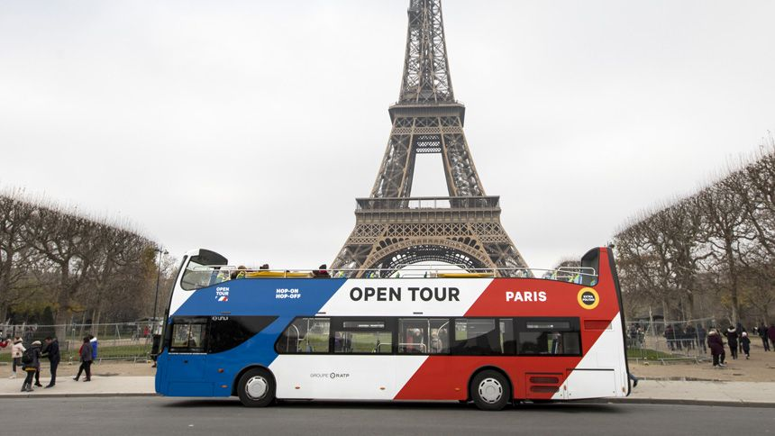 Paris Sightseeing Bus Tours - 10% NHS discount