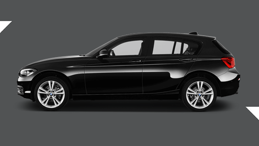 BMW 1 Series. £185 per month inc VAT + 1,000 free excess miles¹