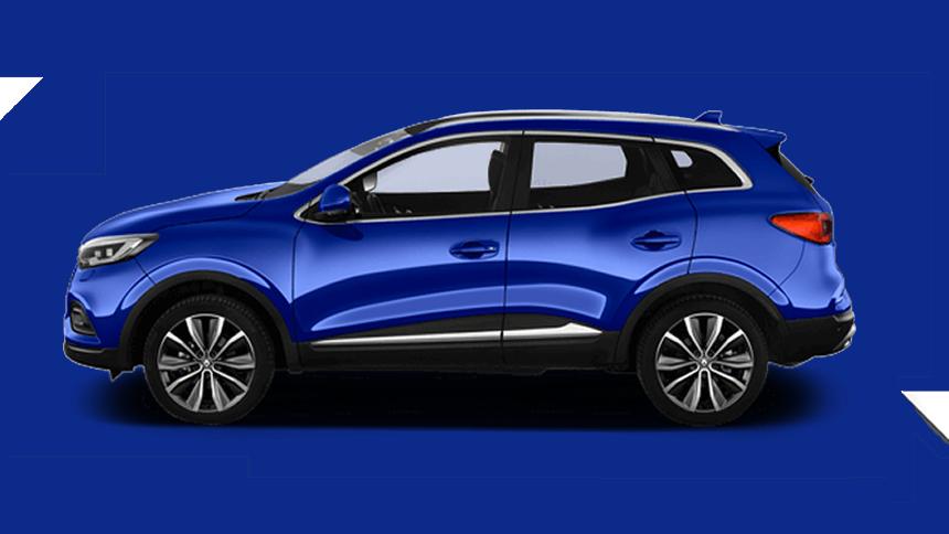 Renault Kadjar. £209 per month inc VAT + 1,000 free excess miles¹