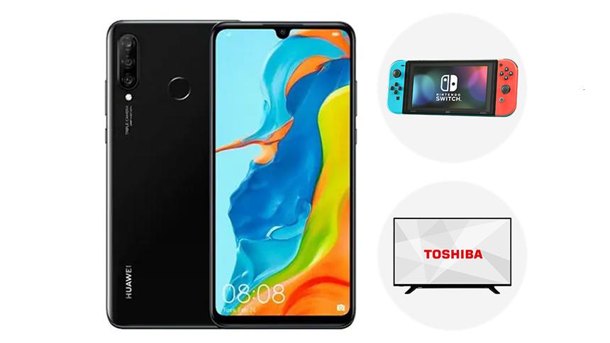 "Huawei P30 Pro. FREE 43""Toshiba TV or Nintendo Switch"