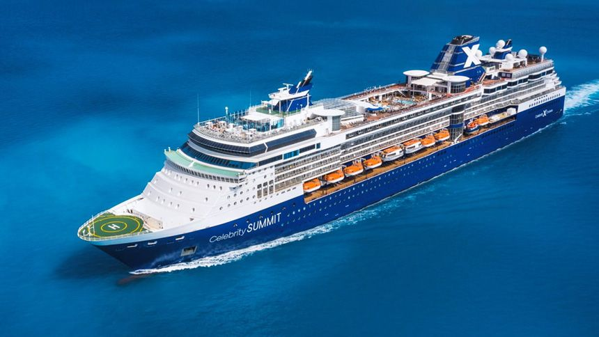 Celebrity Cruises. £50 off for NHS