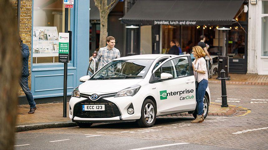 Enterprise Rent-A-Car. Free 12 month membership to Enterprise Car Club for NHS