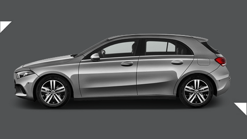 A Class Hatchback. £262 per month + 1,000 free excess miles¹ + FREE £75 fuel card*