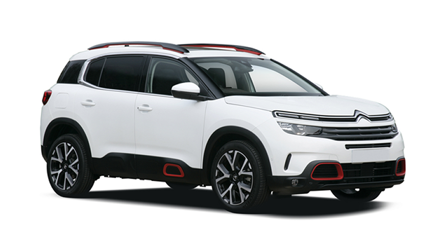 Citroen C5 Aircross Hatchback - £248 per month + 1,000 free excess miles¹