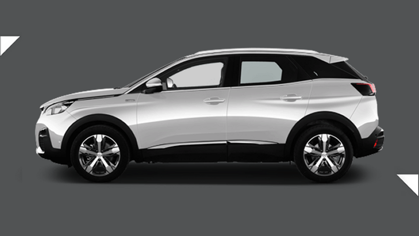 Peugeot 3008 Estate. £219 per month + 1,000 free excess miles¹ + FREE £75 fuel card*