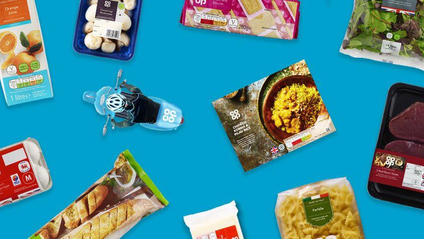 Co-op Online Grocery Shop - 10% exclusive NHS discount