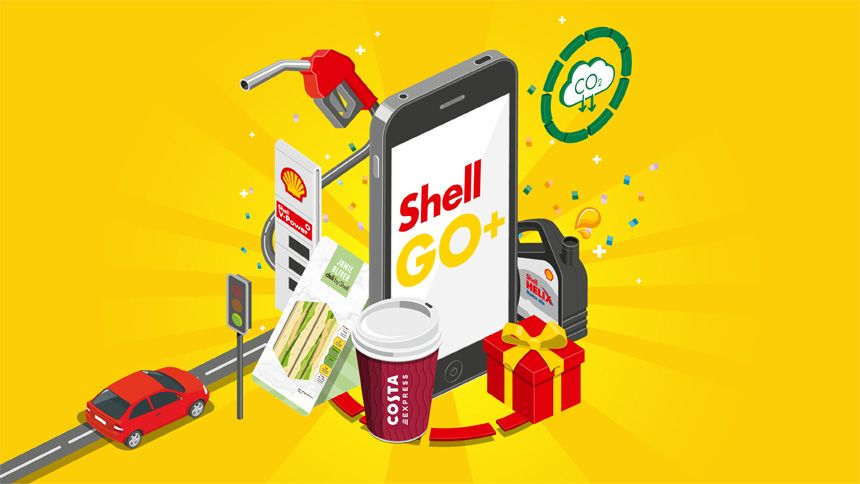 Fuel Saving - Get 3% off Shell fuel with Shell Go+