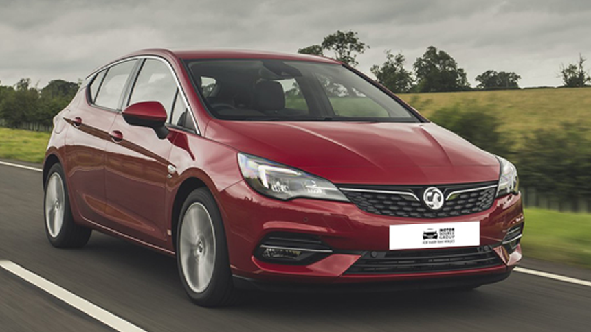 Vauxhall Astra - NHS save £5,376.90