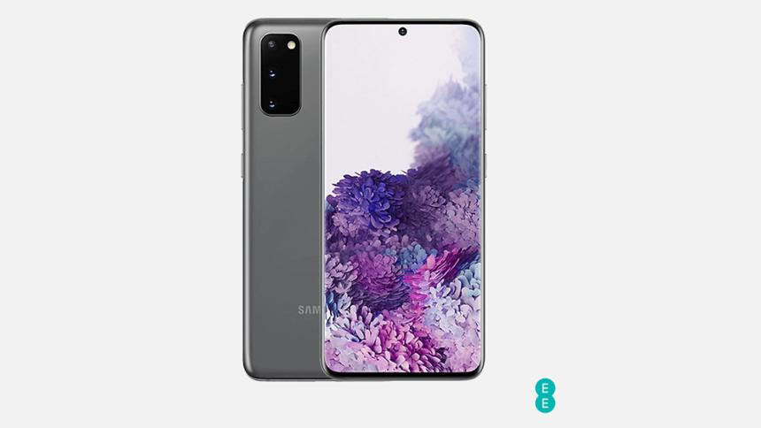 Samsung Galaxy S20 - £38 a month
