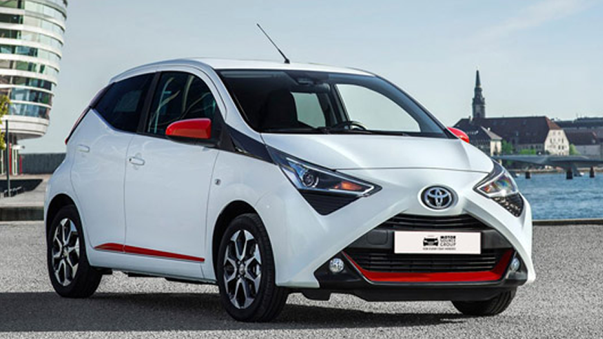Toyota Aygo - NHS save £1,831.09