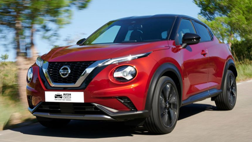 Nissan Juke - NHS save £3,091.80