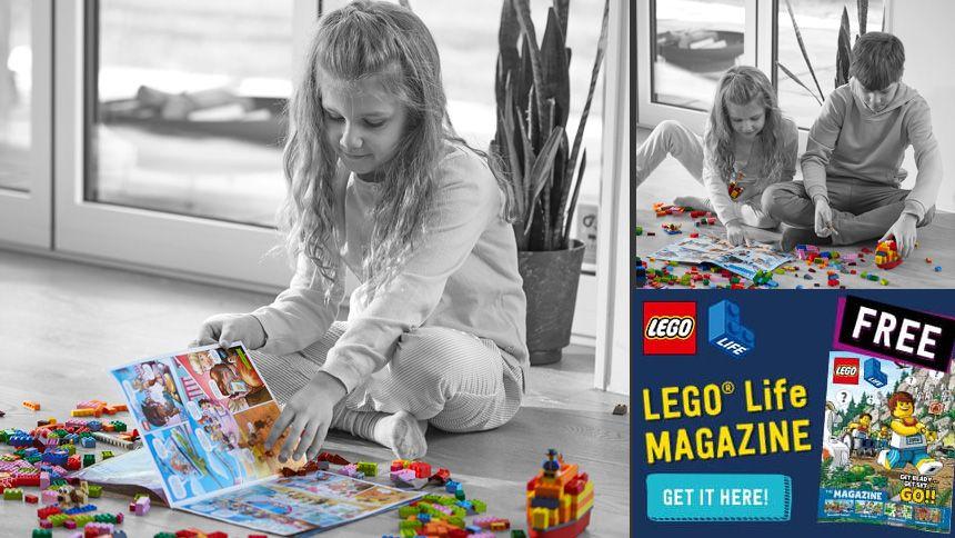 LEGO® - Get the FREE LEGO® Life Magazine
