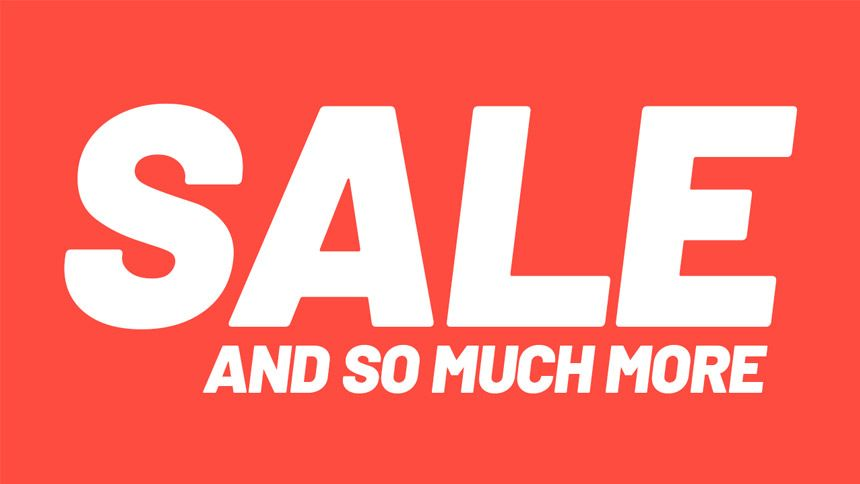 Sale - Huge savings on 100s of products