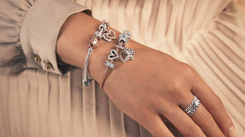 Pandora - 3 for 2 on all jewellery + free delivery for NHS