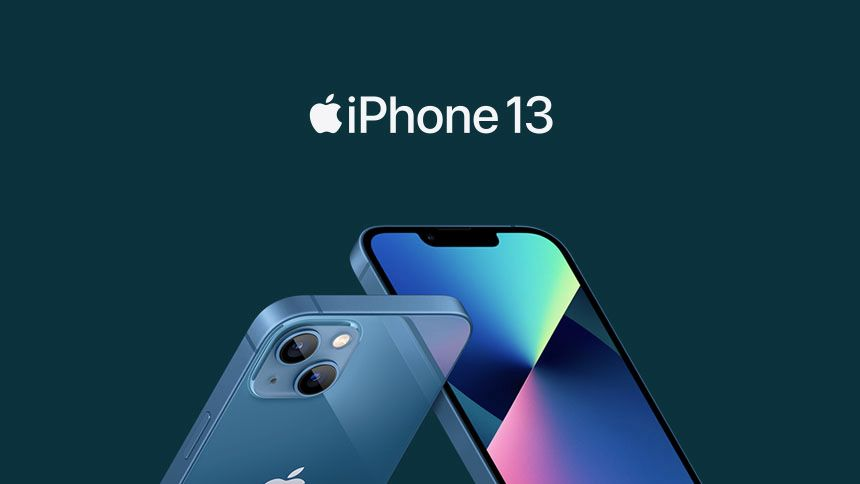 New iPhone 13 - £0 upfront + £48 a month