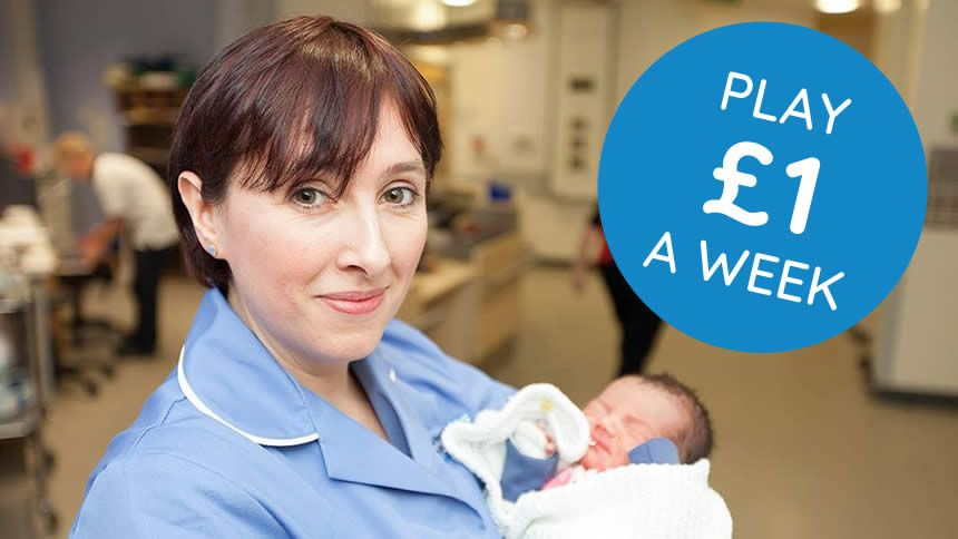Play the NHS lottery. Over £145,137 won & over £123,889 donated