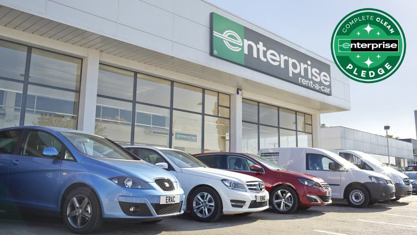 Enterprise Rent-A-Car - 5% NHS discount off everyday low rates