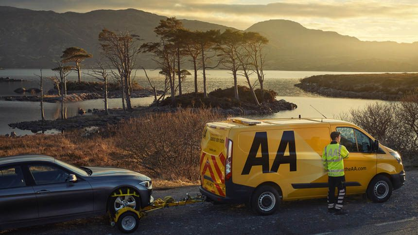 AA European Breakdown Cover - From just £7 a day*