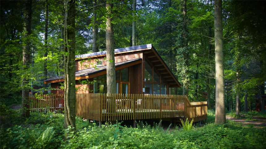 Luxury Woodland Lodges. 10% NHS discount
