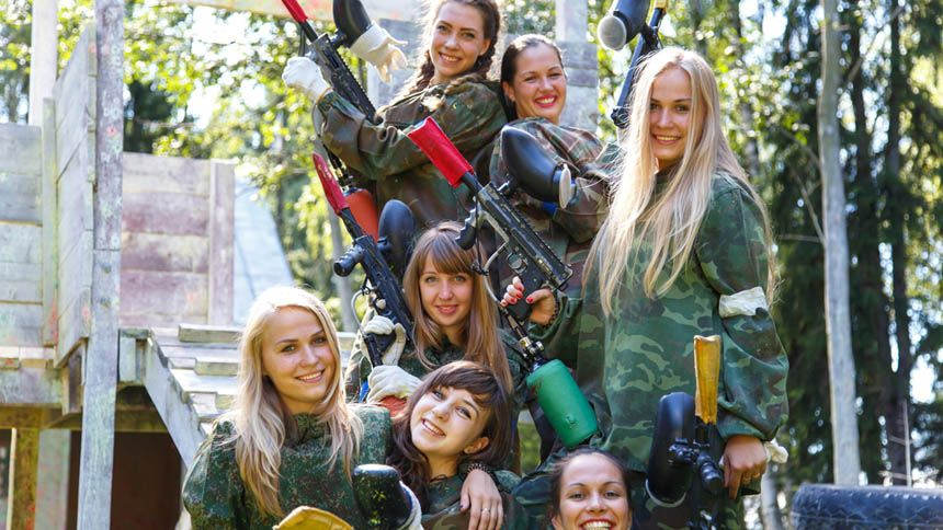 Go Ballistic Paintballing. 7% NHS discount