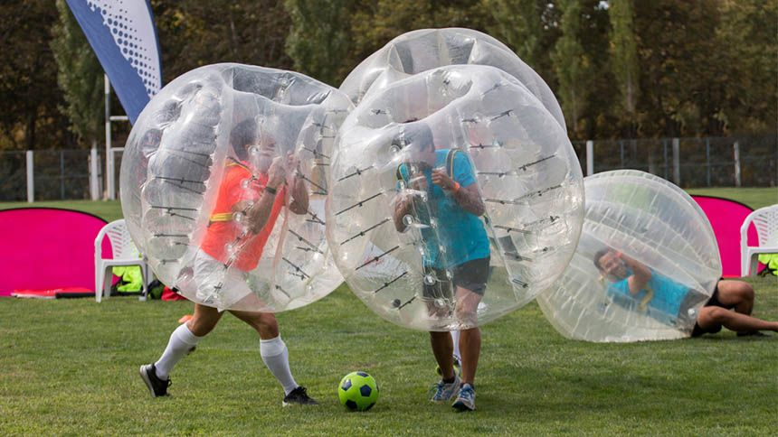 Go Bubble Ball. 7% NHS discount