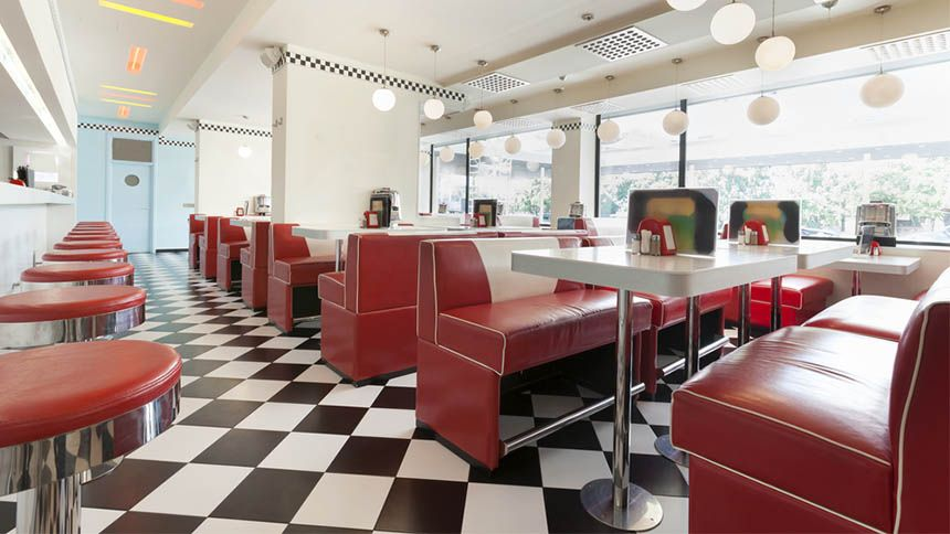 Ed's Easy Diner. 30% off food all day, every day for NHS