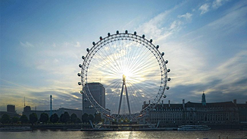 London Eye. Huge savings for NHS